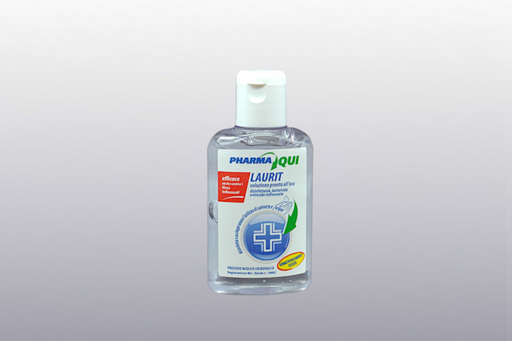 Flacone 100 ml Gel Laurit
